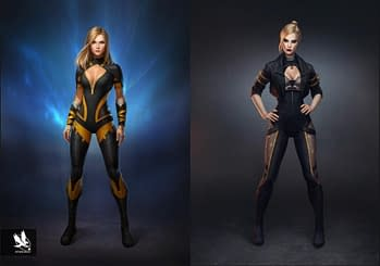 Design Studio Atomhawk Shared Some Stunning Injustice 2 Concept Art