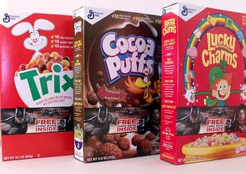 Cereal Boxes Including The Comics