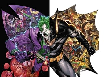 Batman #100 Main Cover Joker War Poster Full Image