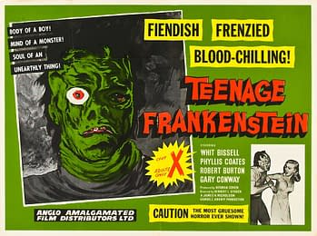 Castle of Horror – 'I Was a Teenage Frankenstein': A Narcissistic Monster Makes a Monster