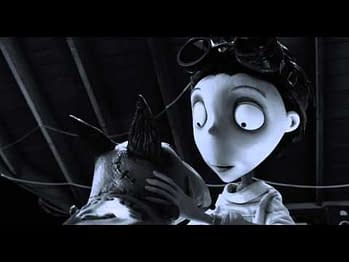 BC Mag #1: Tim Burton's Guided Tour Of The World Of Frankenweenie
