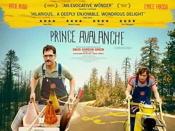 prince avalanche uk poster
