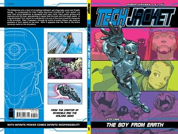 Cover image for TECH JACKET TP VOL 01 BOY FROM EARTH