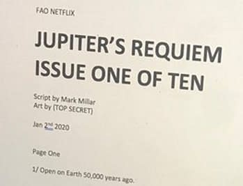Mark Millar Announces He Is Writing Jupiter's Requim