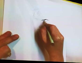Jim Lee Draws a Crowd (and Wonder Woman) and Answers Whether Batman Kills The Joker at SAM
