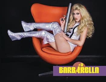 Cover image for BARBARELLA #6 CVR E COSPLAY