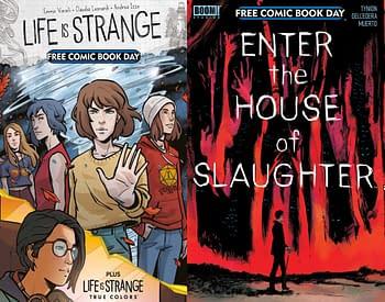 New FCBD Covers For Enter The House Of Slaughter & Life Is Strange