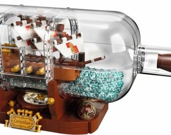 LEGO Ideas Ship in a Bottle Set Hits Stores in February