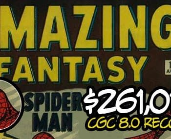 An Amazing Fantasy 15 CGC 8.0 Has Sold For A Record Breaking $261010 At ComicLink