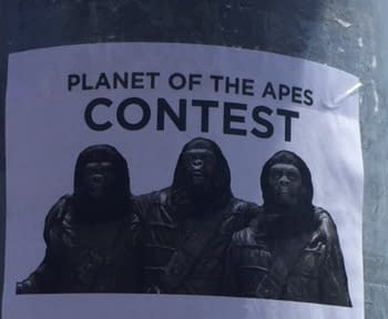 Pranks Abound At SDCC: Planet Of The Apes Impression Contest