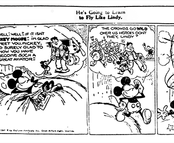 Floyd Norman Recreates The First Mickey Mouse Cartoon Strip From 77 Years Ago