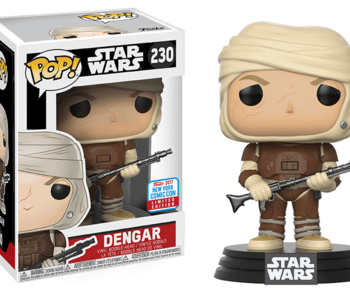 Funko NYCC 2017 Exclusives Part 2: DC Comics And Star Wars Dengar