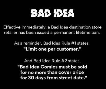 Why Bad Idea Dropped Another Comic Book Store