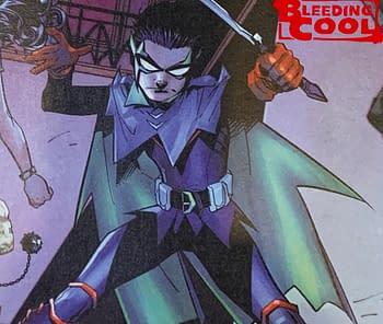 Damian Wayne - Going Purple In Infiniter Frontier?