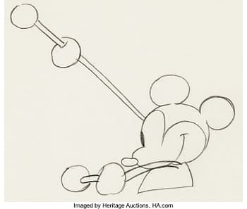 Mickey Mouse Animation Art