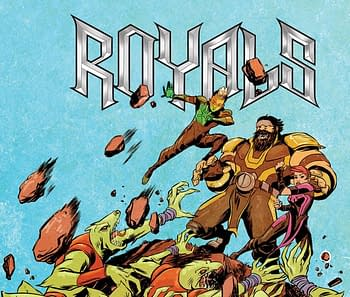Cover to Royals #8 by Sanford Greene