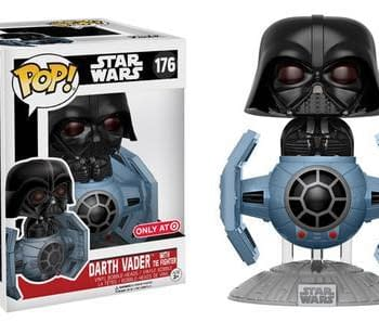 This Darth Vader TIE Fighter Deluxe Funko Pop Is Too Adorable