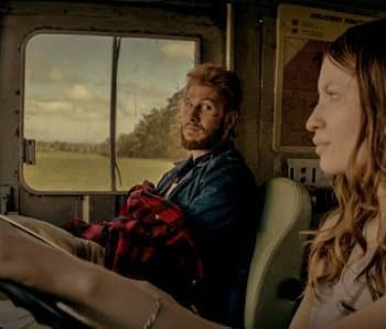 American Gods Latest Clip Features Laura and Mad Sweeney Debating Salims Future