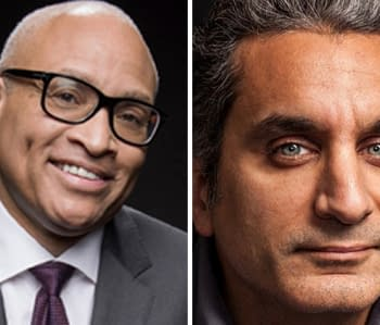 Larry Wilmore Bassem Youssef Developing ABC Middle-Eastern American Family Superhero Series