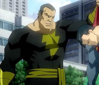 Superman And Black Adam Hang Out At Christmas But Hint At DCEU Clash In The Future