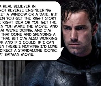 Ben Affleck Is Contemplating Starring In The Batman After Justice League