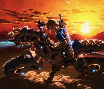 Breath of the Wilds Master Cycle Zero Was Borrowed from Mario Kart