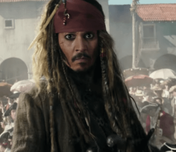 Johnny Depp Inflicts Acting Skills On Live Audience At Disneylands Pirates Of The Caribbean Ride