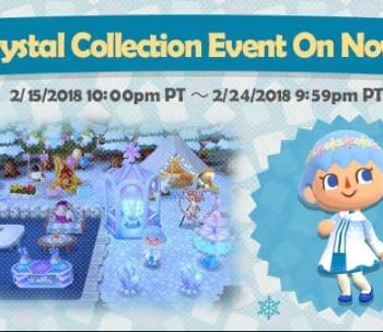 Animal Crossing: Pocket Camp Launches Their Crystal Collection Event