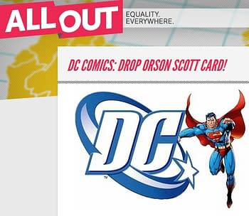 Campaign To Get Orson Scott Card Fired From Superman Begins