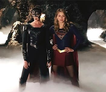 Melissa Benoist Shares Photo of Supergirl and Reign