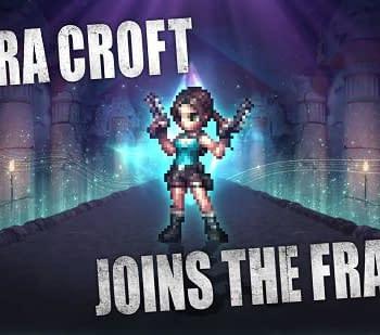 Lara Croft Joins Final Fantasy Brave Exvius for Collaboration Event
