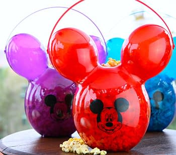 Nerd Food: Grab a Mickey Balloon Popcorn Bucket Before They Float Away