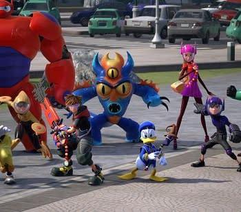 Take A Gander at Big Hero 6s San Fransokyo in Kingdom Hearts III