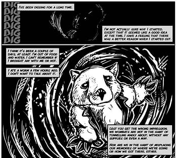 Bury Yourself In A Good Book With 'Digger', A Graphic Novel Series From Ursula Vernon