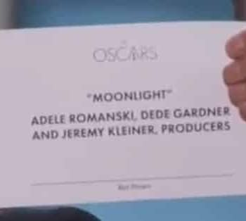 Oscars Video: This Is Not A Joke. Moonlight Has Won Best Picture Watch Warren Beatty Faye Dunaway And Jordan Horowitzs Oscar Moment For The Ages