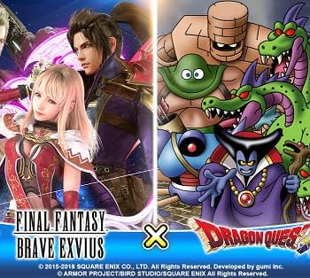 Dragon Quest XI is the Latest Collaboration Event for Final Fantasy Brave Exvius