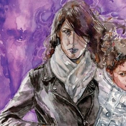 Marvel Legacy Jessica Jones #13 Review: Purple 2- Electric Purple Dude