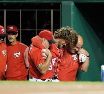 Nationals Bryce Harper Avoids Horrific Injury Placed On DL