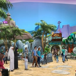 Batman Superman Bugs Bunny Scooby Doo Fred Flintstone To Crossover In Warner Bros Abu Dhabi Theme Park