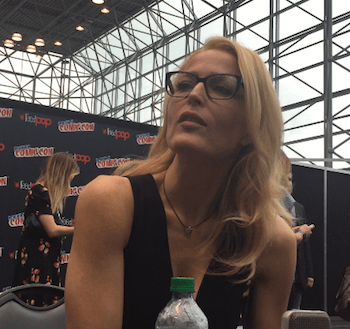 An Interview With Gillian Anderson at New York Comic Con