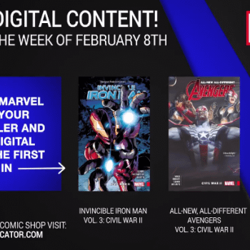 Marvel Reveals Next Weeks Bonus Digital Content Including More Civil War 2 Plus Cloak and Dagger
