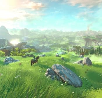The Legend Of Zelda: Breath Of The Wild Has Gone Gold