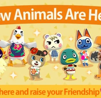 Seven New Campers Coming To Animal Crossing: Pocket Camp