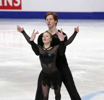 [Olympics] General Hux and Captain Phasma aka Pairs Skaters Morozov and Tarasova
