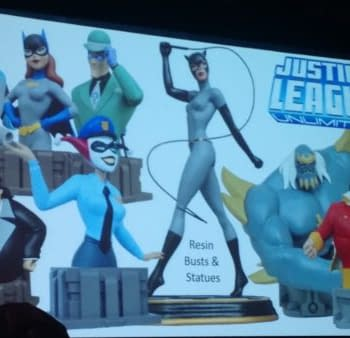 Diamond Toys Figures Statues Busts Minimates On Display At 2017 Diamond Summit &#8211