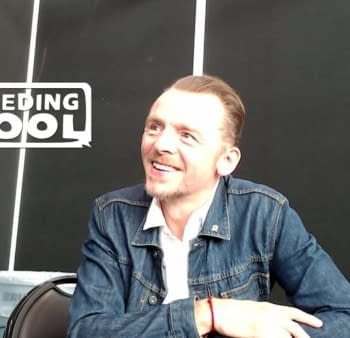 Simon Pegg on Amazons The Boys (The Bleeding Cool Interview)