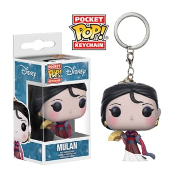 Funko Disney Pop Keychains Mulan