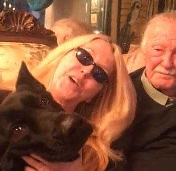 Video Message From Stan Lee at Home With His Daughter JC For Fathers Day