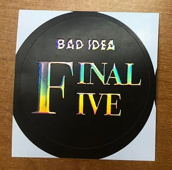"""Bad Idea's """"Final Five"""" Comics Will Have To Be Ordered Blind"""