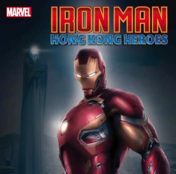 Marvel Launches Iron Man: Hong Kong Heroes a Comic Inspired by a Theme Park Ride Inspired by a Movie Inspired by a Comic